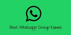 1000+ Cool Funny Best WhatsApp Group Names